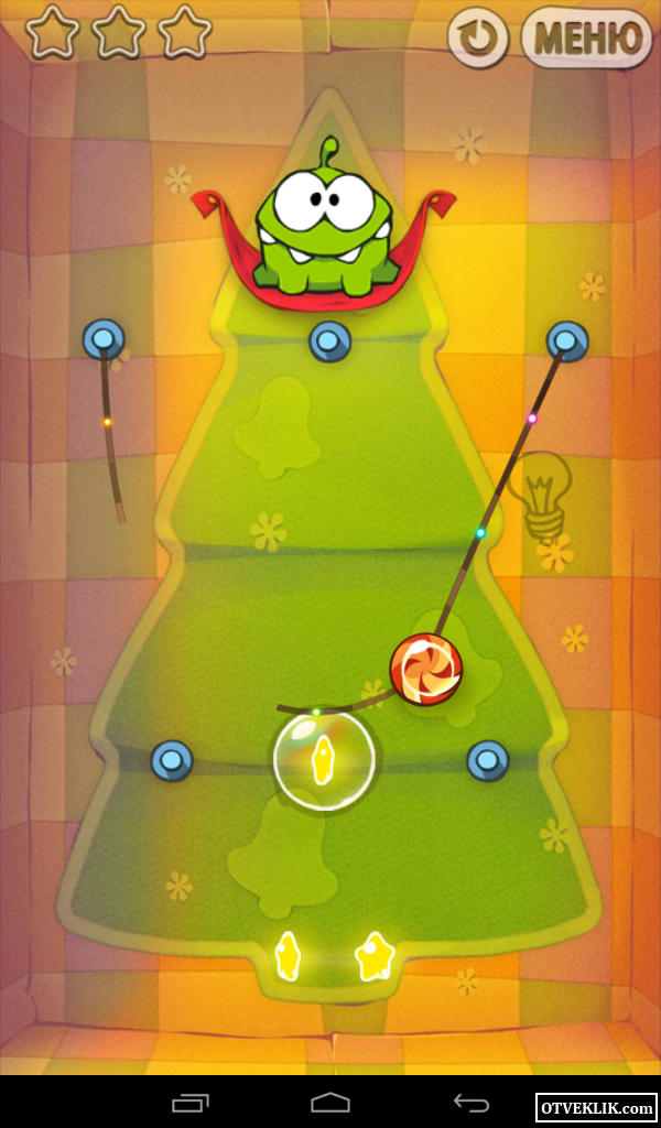 Игра Cut the Rope android - YouTube