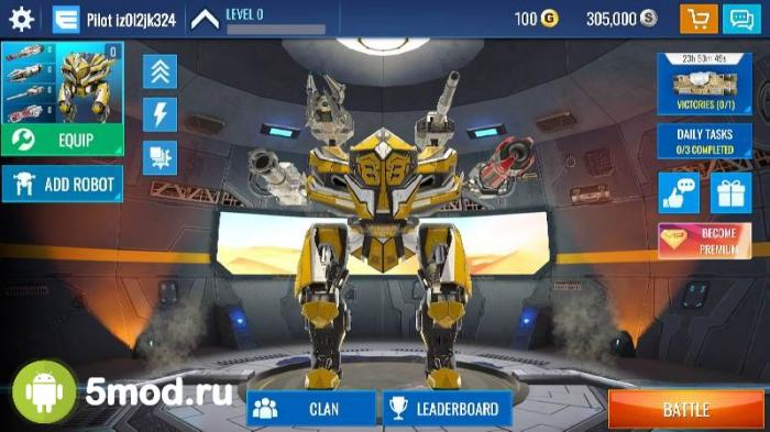 Mech Wars: Multiplayer Robots Battle