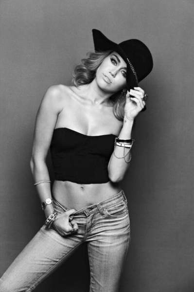 Miley Ray Cyrus for Brian Bowen Smith Shoot 2012